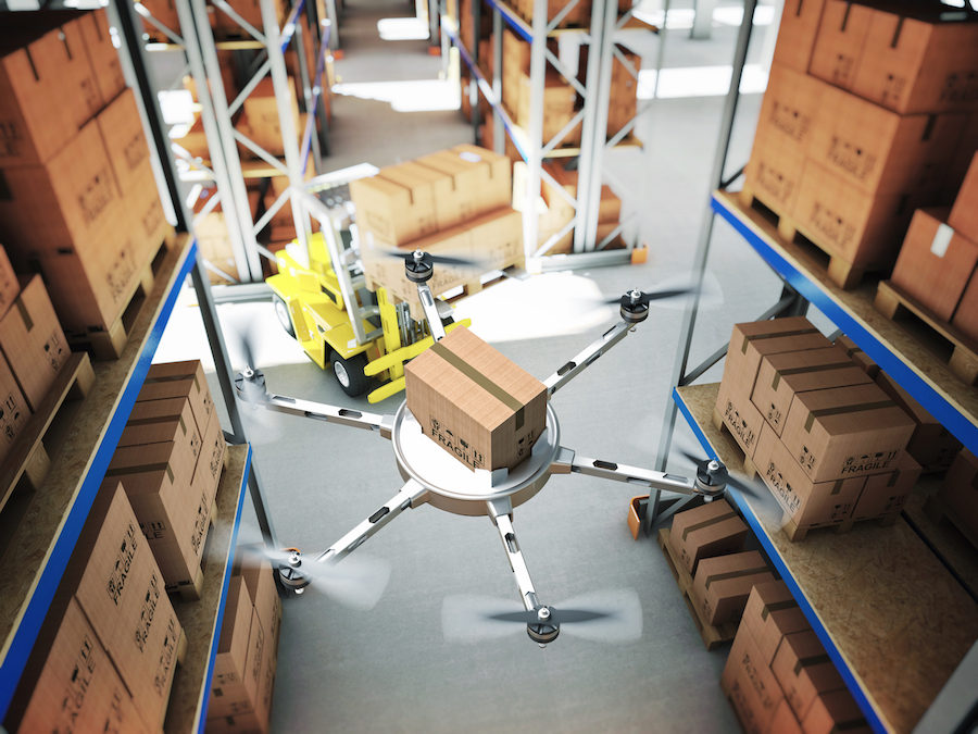 Drones: The future of warehouse innovation?
