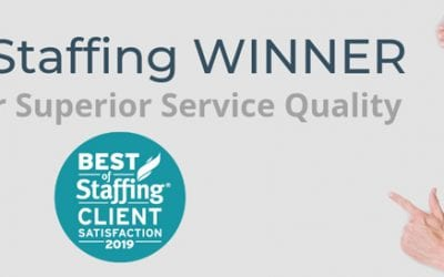 Alliance Industrial Solutions Receives 2019 Best of Staffing Award